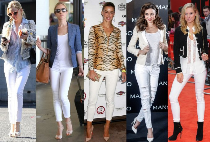 Popular-Womens-White-Jeans