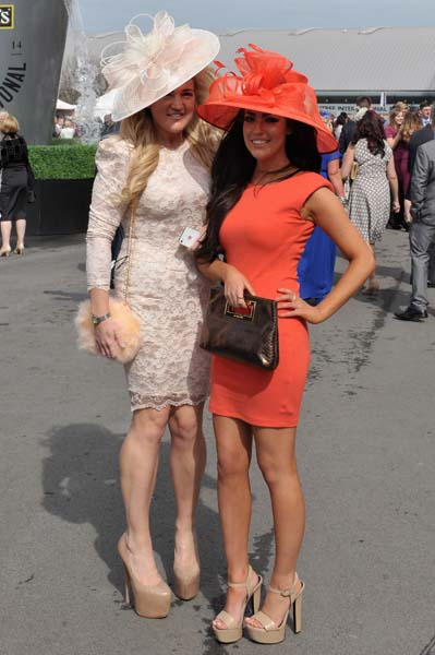 Fashion And Celebrities At Aintree - Day 2 - Ladies Day