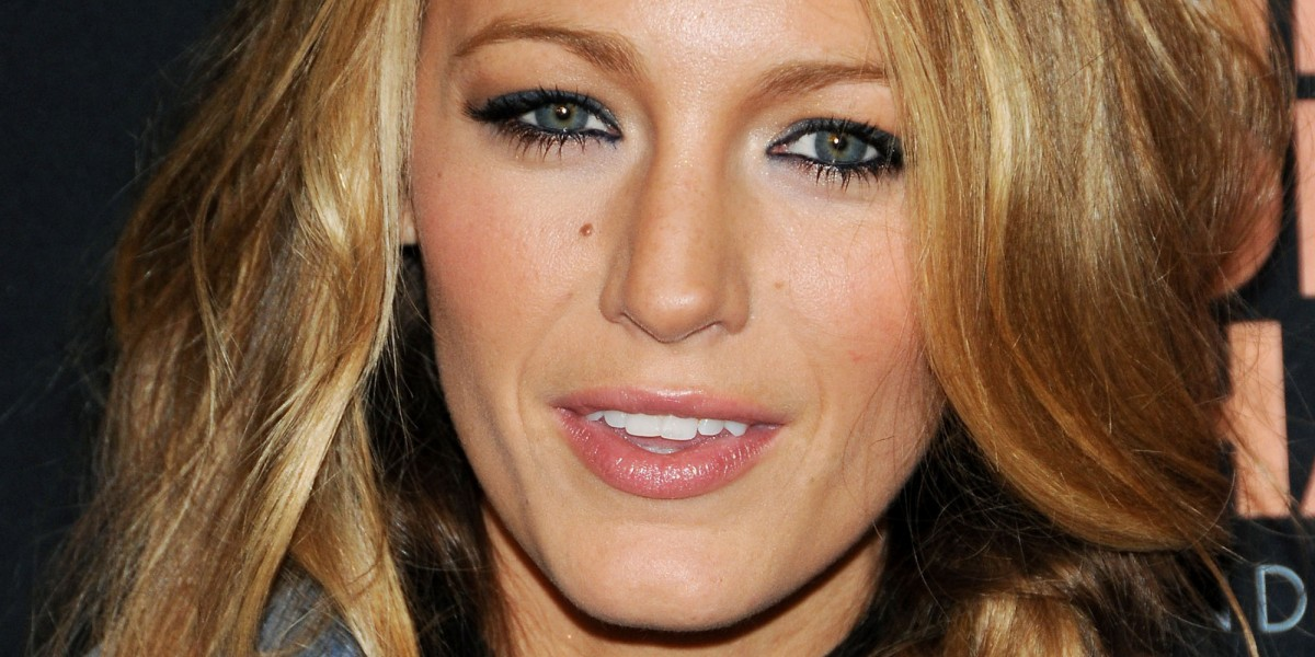 Blake Lively Visits Macy's Herald Square